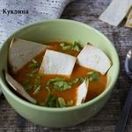 Быстрый мексиканский суп с чипсами