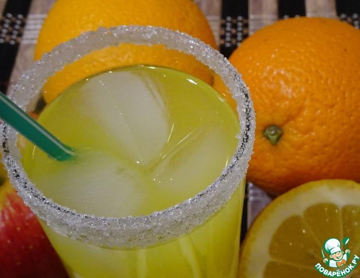 Рецепт: Напиток апельсиновый