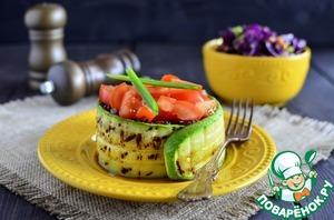 Гарнир из рисового микса с овощами