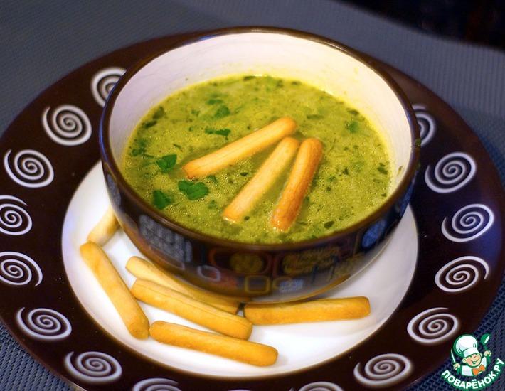 Рецепт: Постный тайский суп со шпинатом