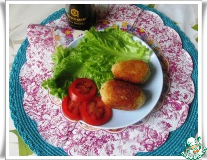 Рецепт: Картофельные котлеты Коррокэ