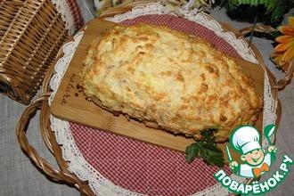 Рецепт: Картофельно-мясной хлеб