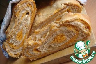 Рецепт: Томатно-ореховый хлеб