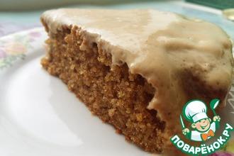 Рецепт: Пирог из цикория и цельнозерновой муки