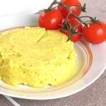 Картофельное пюре с яблоками и карри