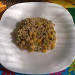 Салат с рыбными консервами от Лизы
