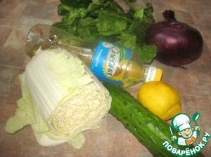 """Для приготовления салата использовала подсолнечное масло ТМ """"ОЛейна"""""""