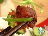 Хрустящая курица с ароматом имбиря ингредиенты