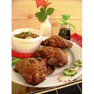 Хрустящая курица с ароматом имбиря