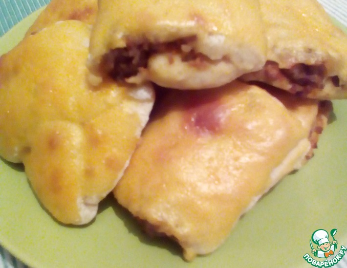 Рецепт: Мини-рулетики с мясом