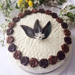 Шоколадный торт с двумя кремами