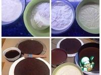 Шоколадный торт с двумя кремами ингредиенты