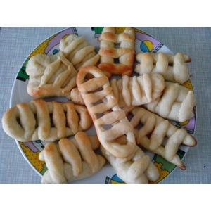 Постное печенье Лесенки