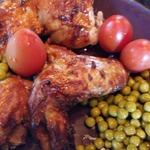 Курица из духовки Плоская