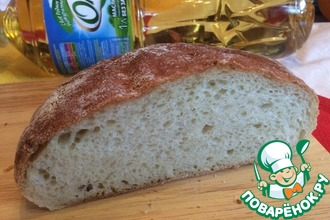 Рецепт: Картофельный пушистый хлеб