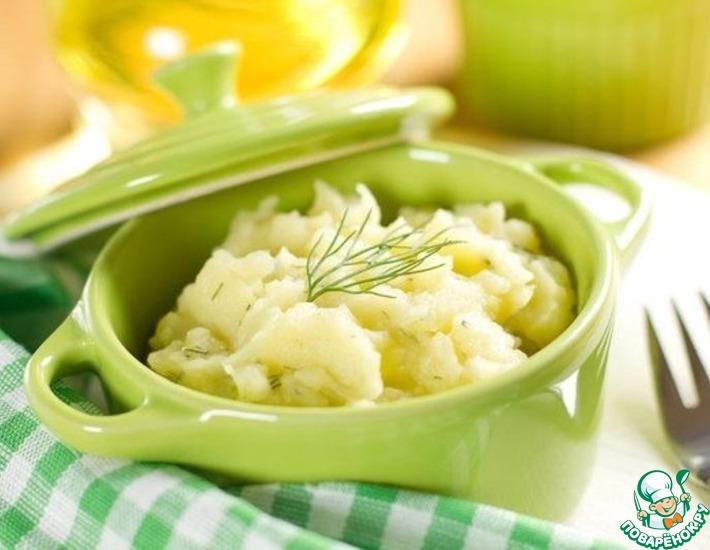 Всеми любимое-картофельное пюре
