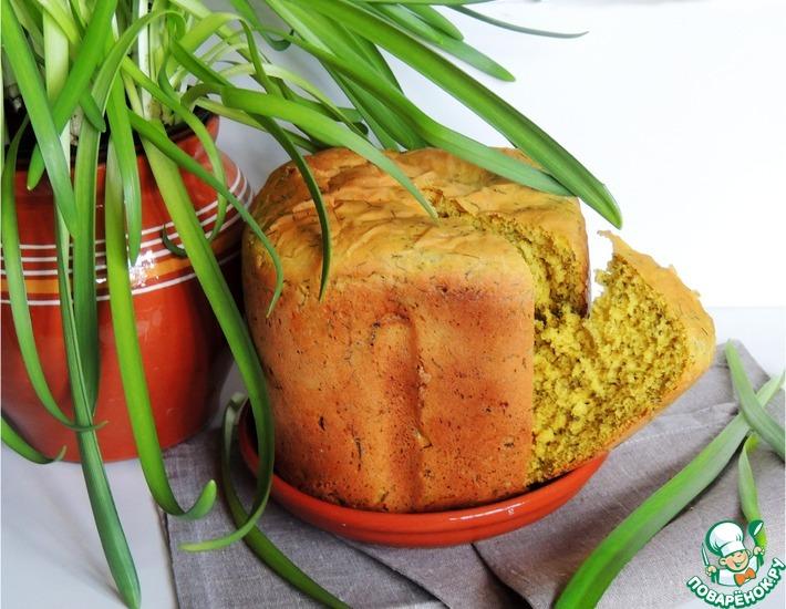 Рецепт: Хлеб Солнечный с зеленью