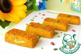 Рецепт: Порционный морковный хлебец