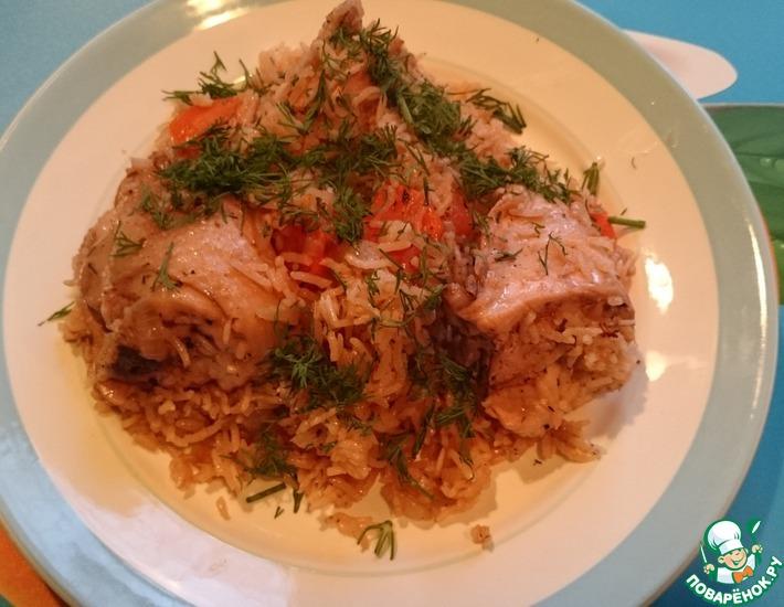 Рецепт: Курица с рисом