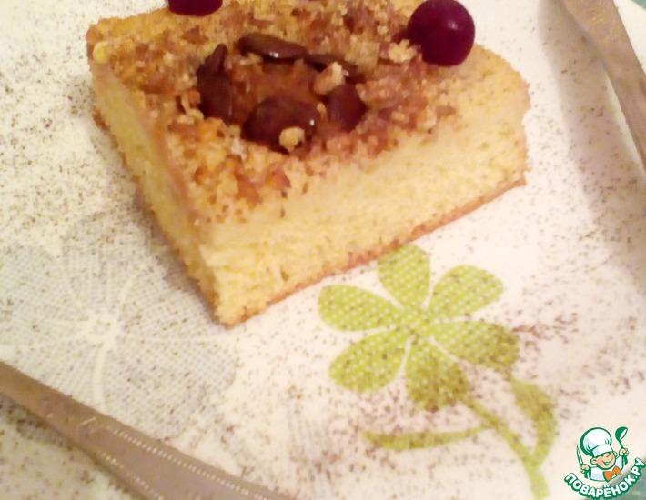 Рецепт: Бисквитный пирог Фантазия