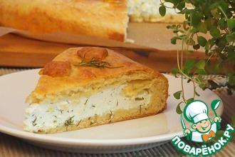 Рецепт: Венгерский творожный пирог