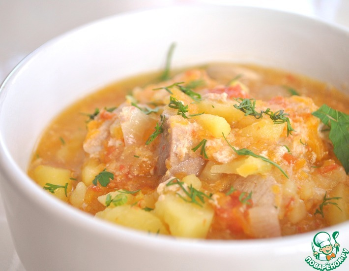 Рецепт: Картофель Ленивый, любимый