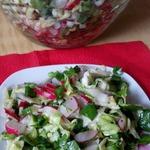 Салат Весенние витамины