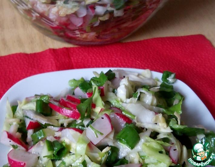 Рецепт: Салат Весенние витамины