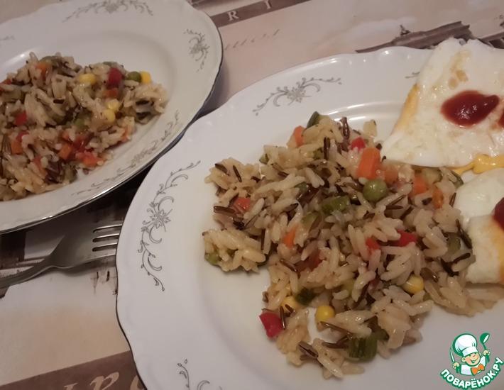 Рецепт: А-ля паэлья Радужная