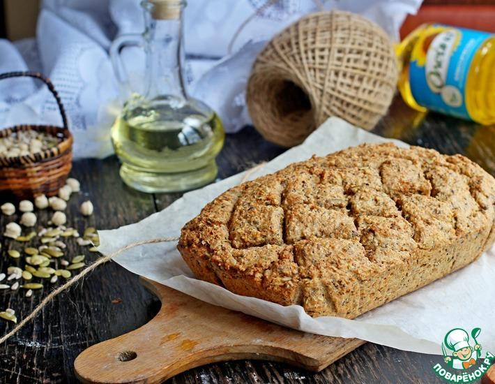 Рецепт: Ирландский зерновой хлеб с отрубями