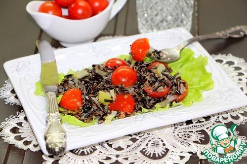 Дикий рис с овощами – кулинарный рецепт