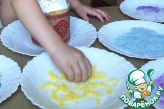 Рецепт: Разноцветный сахар для украшения куличей