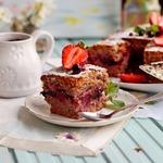 Постный пирог на ягодном соке