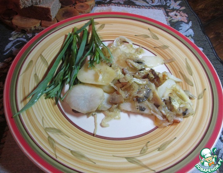 Рецепт: Картофельная галета