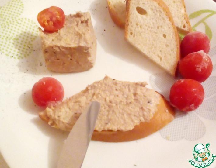 Рецепт: Французский паштет яично-ореховый
