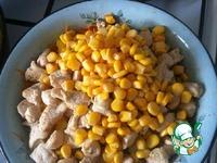 Салат с курицей Солнечный ингредиенты
