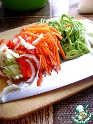 Тушеная капуста с рисом по-азиатски – кулинарный рецепт