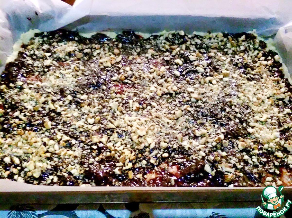 Быстрый песочный пирог