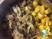 Ароматное жаркое с мясом и грибами ингредиенты