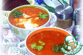 Рецепт: Томатный суп с рисом