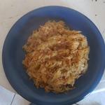 Тушеная капуста с рисом Лаханоризо