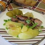 Картофель с курицей Любимый обед