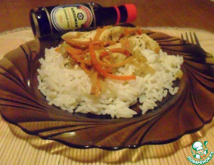 Рецепт: Курица с морковью