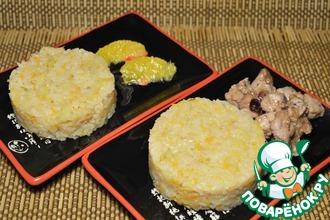 Рецепт: Яблочный рис с клюквенной курицей