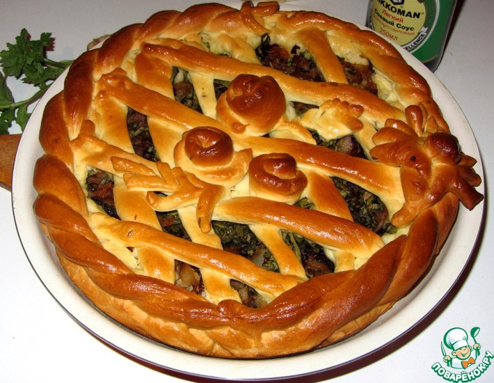 Рецепт: Пирог Праздник весеннего урожая