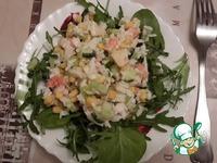 Супер-легкий и свежий салат с креветками ингредиенты