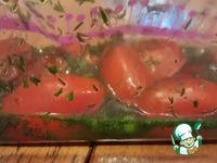 Малосольный салат в пакете ингредиенты