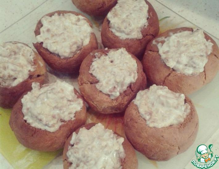 Рецепт: Медовые пирожные