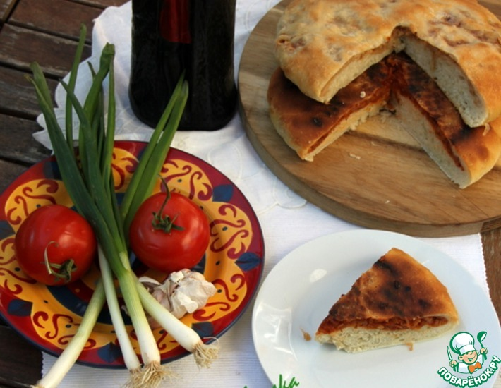 Рецепт: А-ля осетинские пироги Кабускаджын