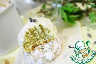 Рецепт: Кокосово-лавандовое печенье